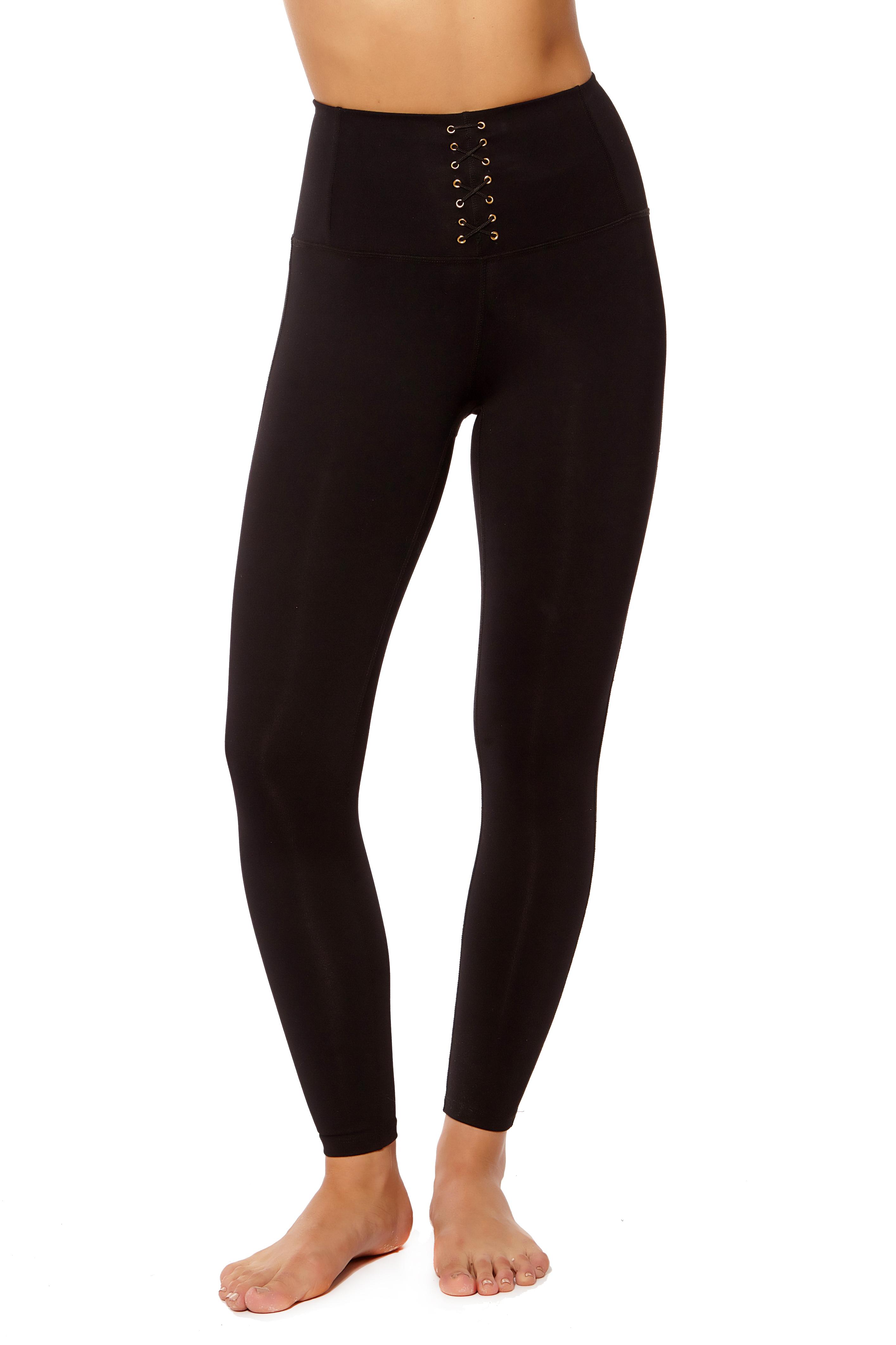 Form Fitting High-Waisted Leggings (1)