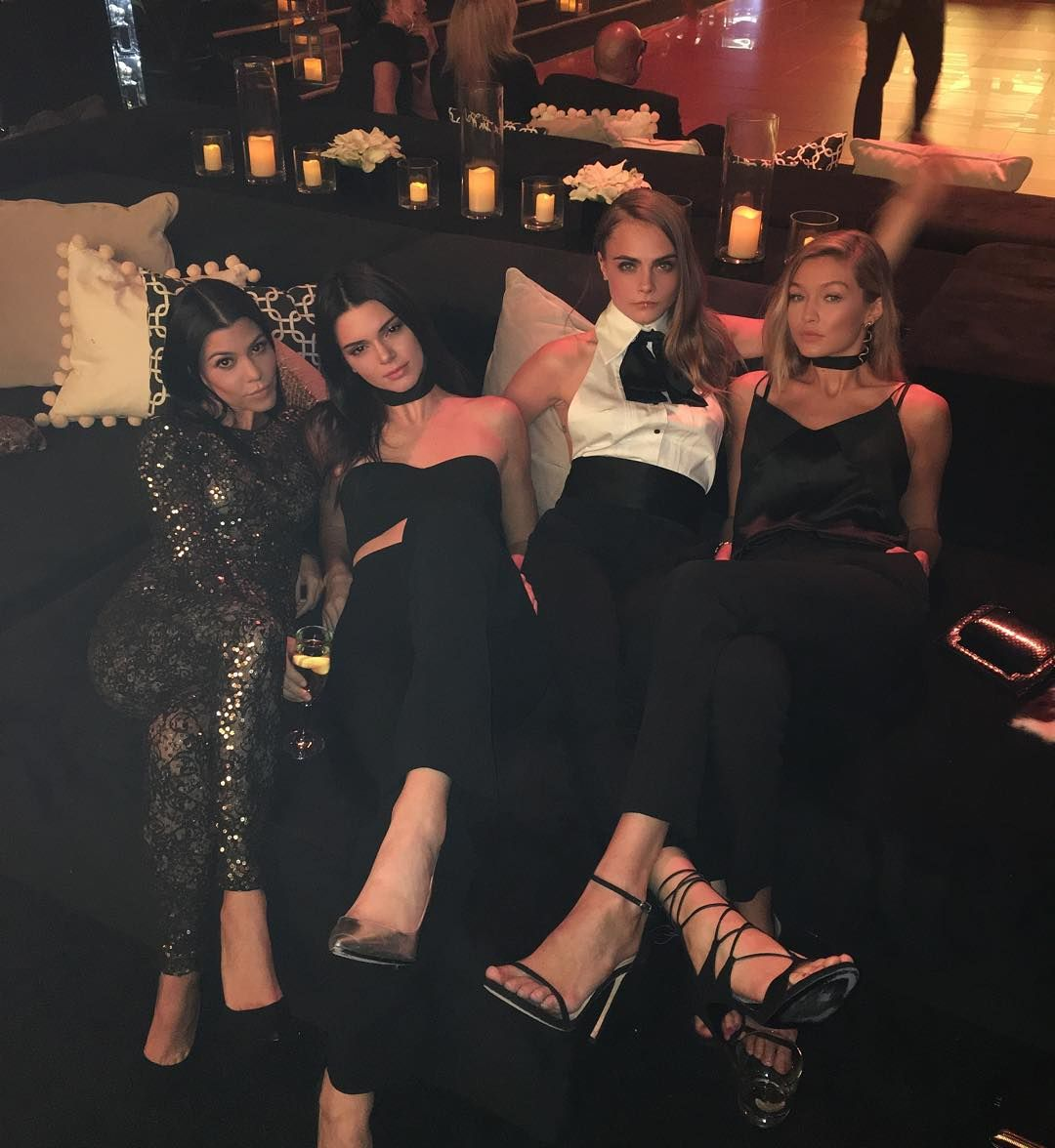 Kendall Jenner, Gigi Hadid Source: Refinery.com