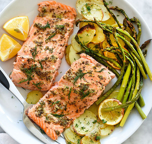 mustard-salmon-sheet-pan-dinner-foodiecrush-com-17